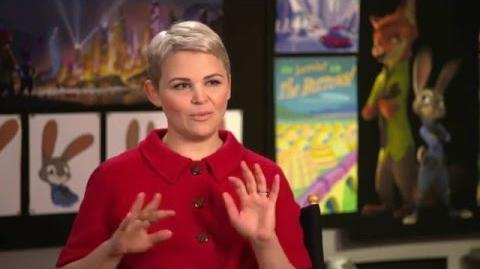 "Zootopia Zootropolis ""Judy Hopps"" Behind The Scenes Interview - Ginnifer Goodwin"