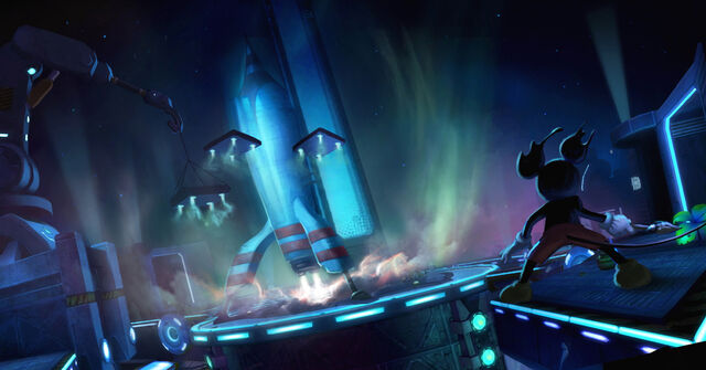 File:Epic Mickey Tomorrow City Rocket Concept.jpg