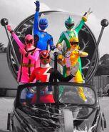 Power Rangers at Disney 2009-2010