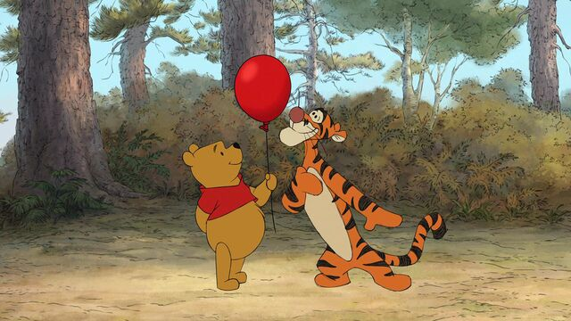 File:Winnie the Pooh is with Tigger and the red balloon.jpg