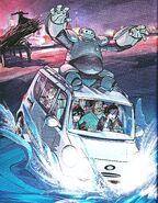 Hiro Baymax Bookscan Fall