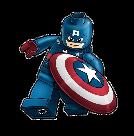File:Captain America Legoart.png