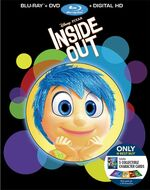 Inside Out Blu-Ray Best Buy exclusive