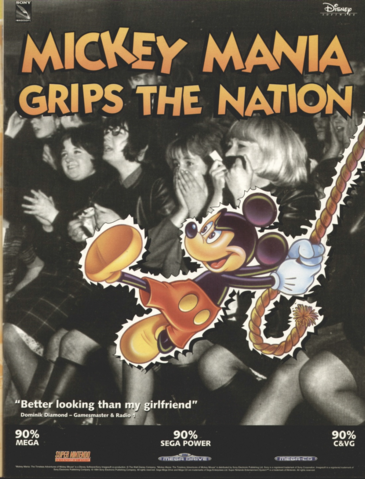 File:Mickey Mania - European Magazine Ad.png