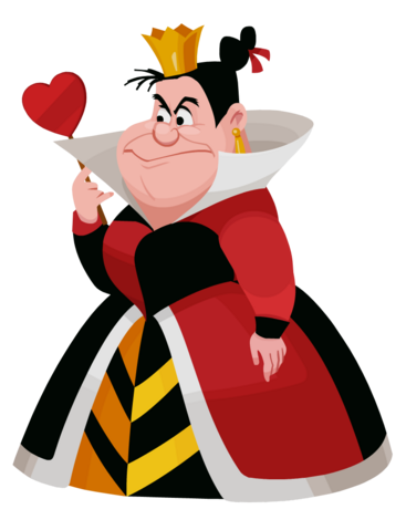 File:Queen of Hearts Kingdom Hearts χ.png