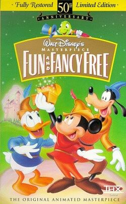 FunAndFancyFree MasterpieceCollection VHS