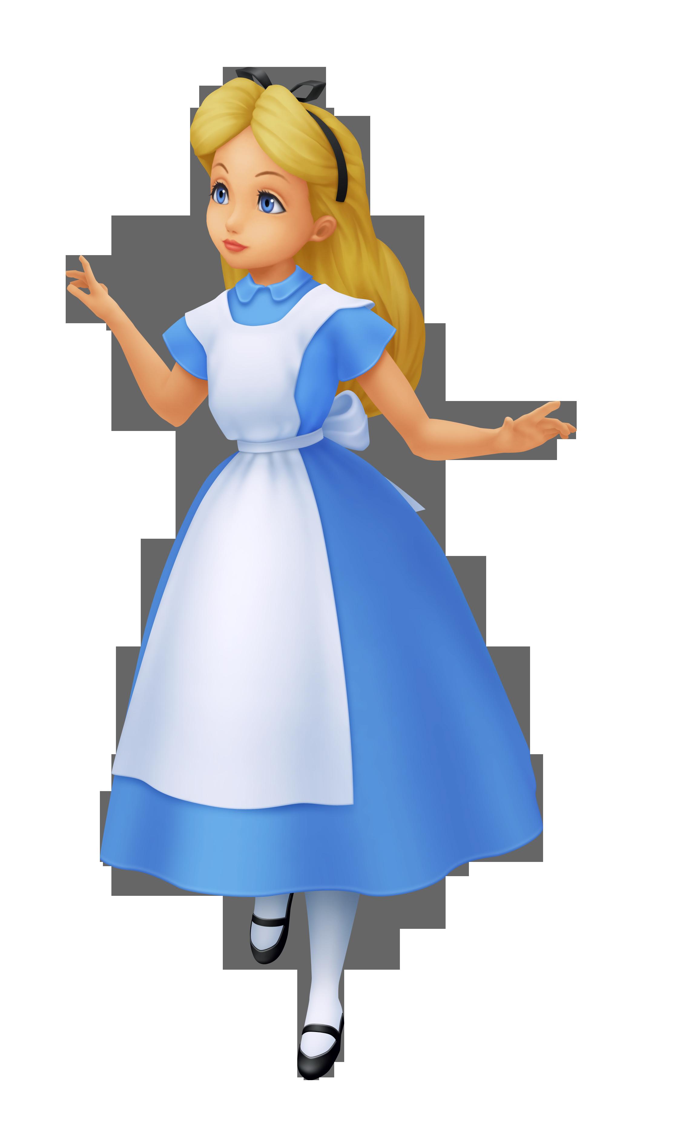 White apron alice wonderland costume - Kingdom Hearts Series Alice Khrec