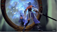 Aqua fights Phantom Aqua