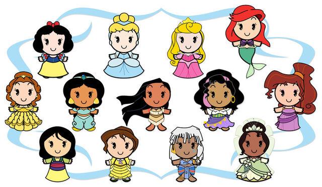 File:Disney Cuties Heroines by Ciro1984.jpg