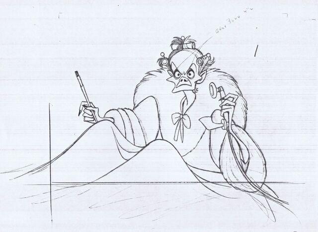 File:Cruella animation sketch.jpg