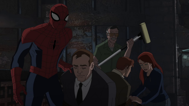File:MJ Spider-Man Stan to the rescue.png