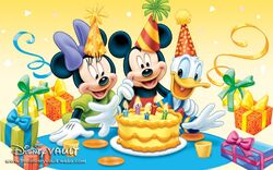 Mickey's Birthday 1280x800
