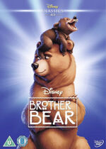 Brother Bear UK DVD 2014 Limited Edition slip cover