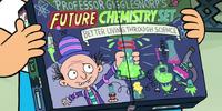 Professor Gigglesnorp's future chemistry set