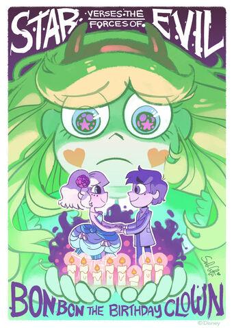 File:Bon Bon the Birthday Clown poster.jpg