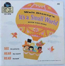 It's a Small World Disney Read Along Record