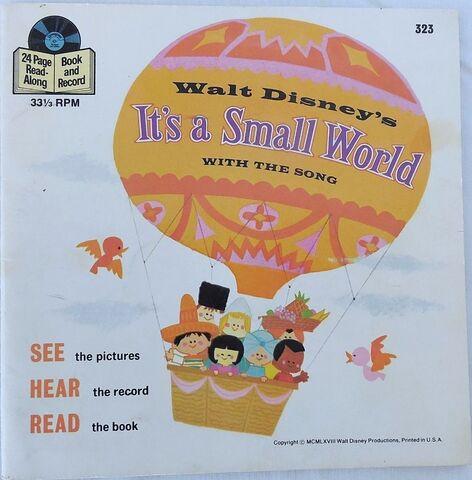 File:It's a Small World Disney Read Along Record.JPG