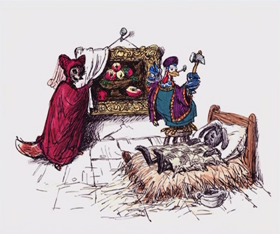 File:Maid Marian Lady Cluck Concept Art.png