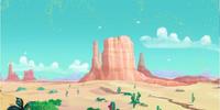 Never Land Desert