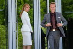 Pepper Potts and Aldrich Killian
