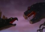 T-Rex vs. Stegosaurus