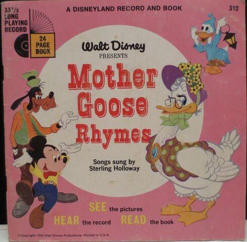File:Walt Disney's Mother Goose Original Book.JPG