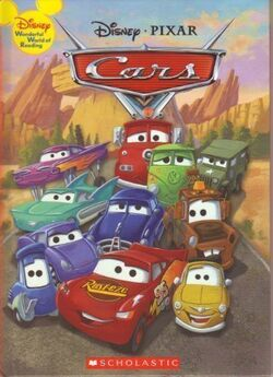 Cars disney wonderful world of reading