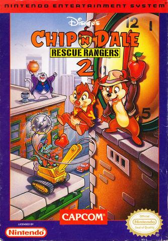 File:Chip 'n Dale- Rescue Rangers 2 NA cover art.jpg