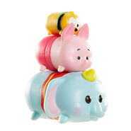 Vinyl Tsum Tsum Pluto Piglet Dumbo