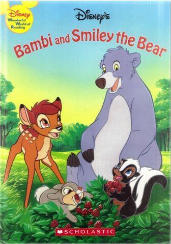 File:Bambi and smiley the bear disney wonderful world of reading.jpg