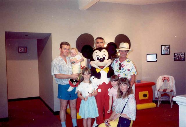 File:Mickey Mouse at Disney Florida 1991.jpg
