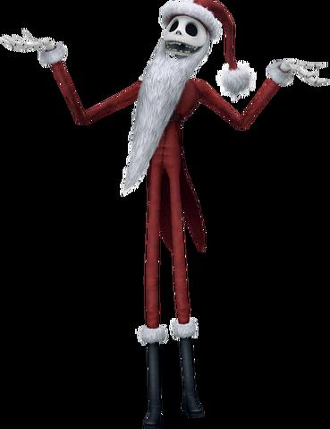File:Jack Skellington (Santa outfit) KHII.png