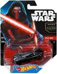 CGW50 Hot Wheels Star Wars Character Car Kylo Ren 002