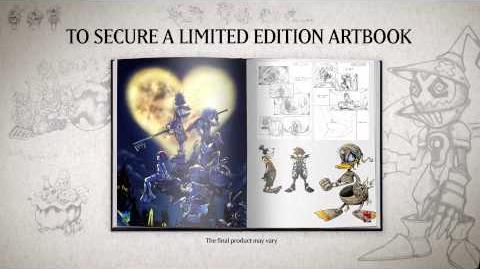 KINGDOM HEARTS -HD 1 5 ReMIX- Limited Edition Artbook Trailer
