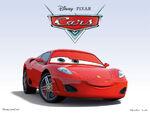 Cars Characters 31 FerrariF340