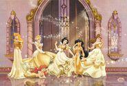Golden disney princess