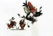 Chanticleer Reynard Kits With Hen