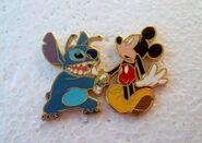 Mickey Stitch April's Fool Pin