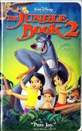 The Jungle Book 2003 VHS