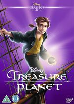Treasure Planet UK DVD 2014 Limited Edition slip cover