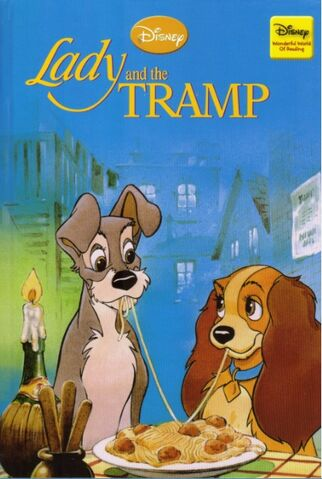 File:Lady and the tramp disney wonderful world of reading hachette partworks.jpg