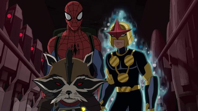 File:Spider-Man Nova Rocket Racoon USWW.png