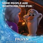 Some People Are Worth Melting For Frozen Poster