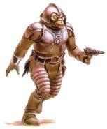 Gamorrean Guard Concept Art