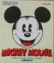 Kemco MickeyMouse Game 1