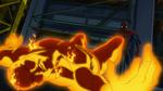 Spider-Man takes down Molten Man USMWW