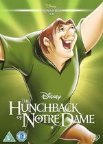The Hunchback of Notre Dame UK DVD 2014 Limited Edition slip cover