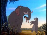 Hathi-Mowgli-Baloo-Jungle Cubs
