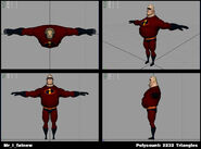 Incredibles Game Concept - Mr. Incredible fatnew