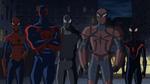 Spider-Man 2099, Spider-Girl, Spider-Man Noir, Spyder-Knight, Miles Morales USMWW